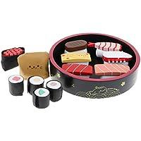 P Prettyia 寿司模型 ふり遊びおもちゃ ごっこ遊び 料理 食べ物セット 子ども おままごと