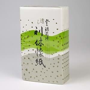 【茶道具 懐紙/かいし】透し利休懐紙 雪月花透し 5帖入り
