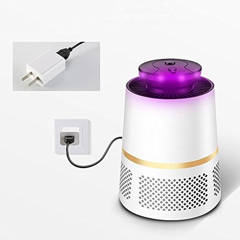 ディーラー誘うたまにWENZHE 蚊対策 殺虫器灯 誘虫灯 虫除け 吸入タイプ インドア サイレント 放射線なし 自動 プラグインタイプ、 2色、 13×17cm (色 : 白, サイズ さいず : 13×17cm)