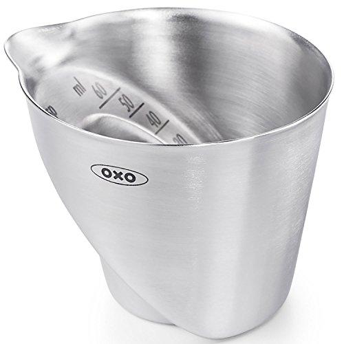 OXO 計量カップ アングルドメジャーカップ ステンレス
