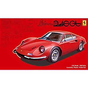フジミ模型 1/24 リアルスポーツカーシリーズNo.101 ディノ 246GT