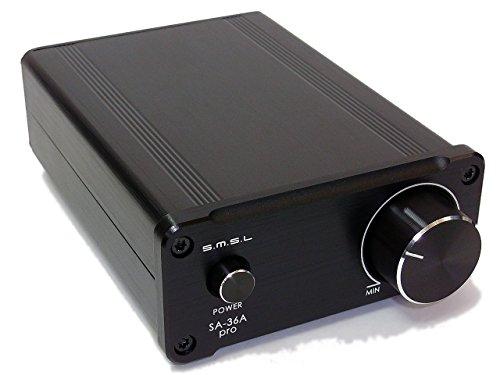 S.M.S.L 『SA-36A pro』 ミニHi-Fiデジタルアンプ [TPA3118D2搭載!2014年NEWモデル] ※本体のみ/電源別売り※NFJストア取り扱い品※ (ブラック(黒) ※本体のみ/電源別売り※)