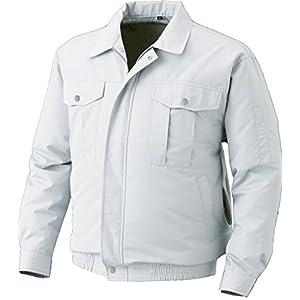 空調服 服単体 屋外作業用空調服 チタンコーティング KU90720 シルバー L 8207740