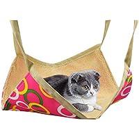[Jiyaru] 猫ハンモック 猫 キャット ハンモック ねこ ネコ 小型犬 寝具 ペット マット フランネル 冬夏両用