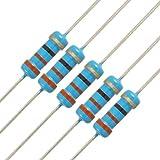 オメガ uxcell 炭素皮膜抵抗器 抵抗器 カーボン抵抗 1/2Wワット 330Ω 330R 0.5W 20本入