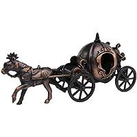 メタルシンデレラPumpkin Horse & CarriageミニチュアDie Cast Toy鉛筆削り器