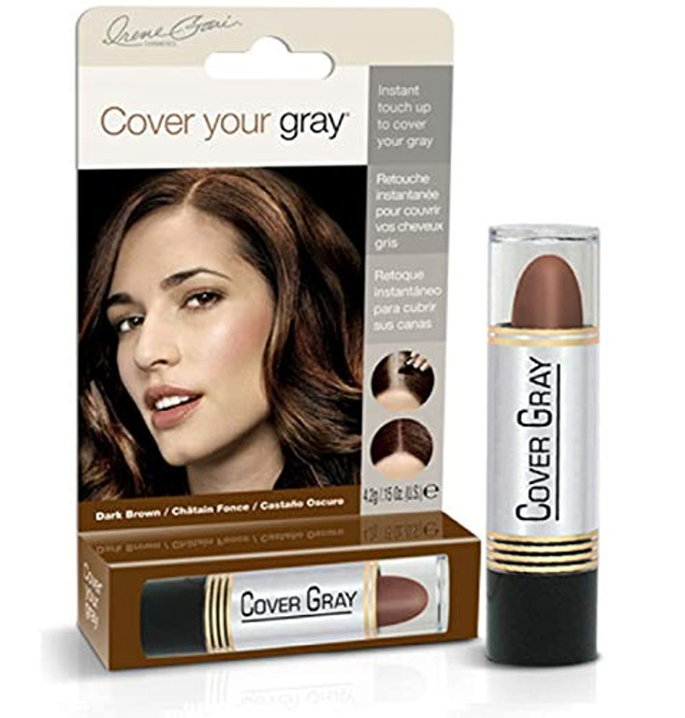 南方の個人祝福するCover Your Gray Stick Dark Brown 44 ml. (Pack of 6) (並行輸入品)