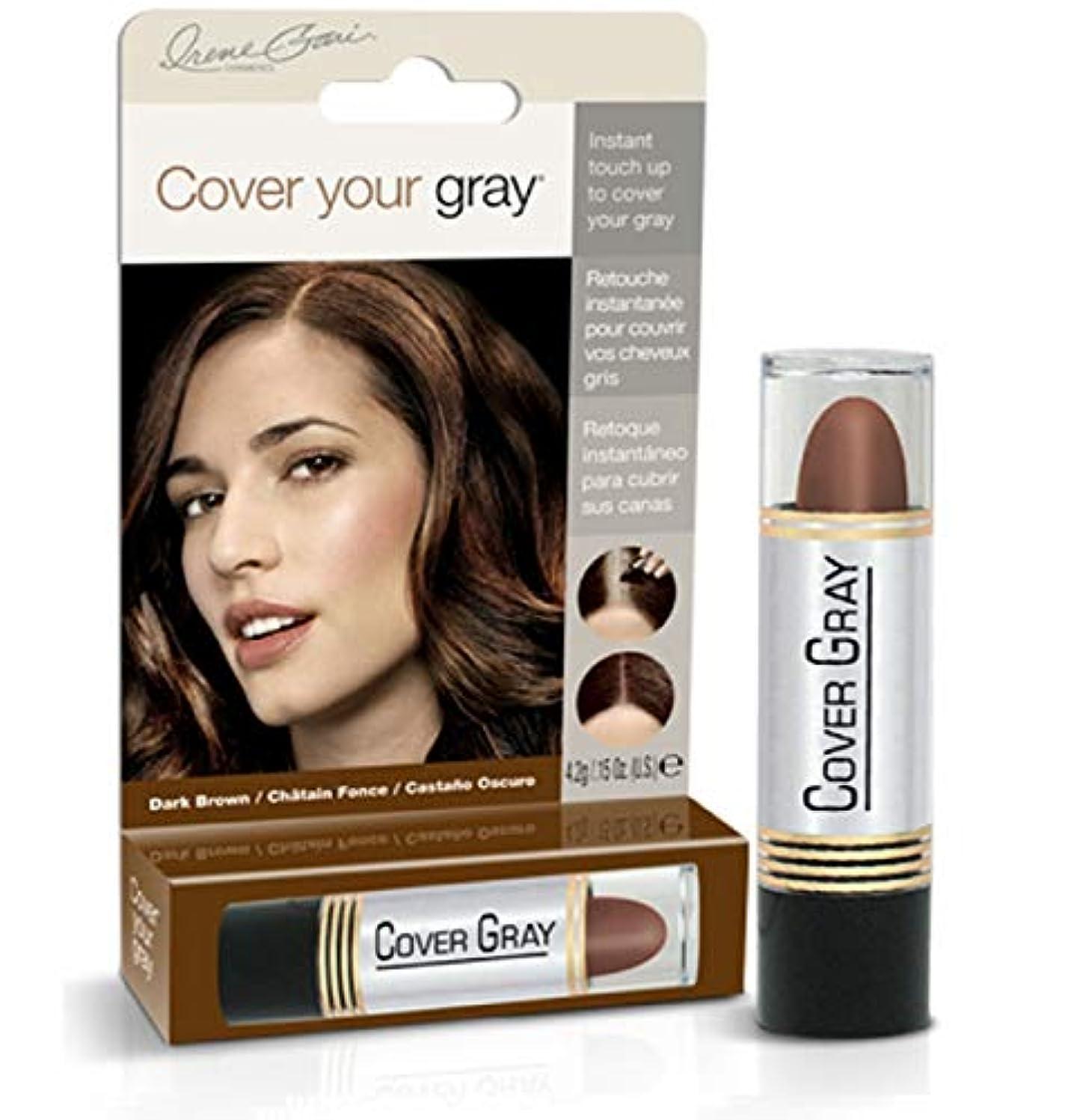 登場サラダ驚いたことにCover Your Gray Stick Dark Brown 44 ml. (Pack of 6) (並行輸入品)