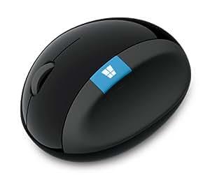 マイクロソフト ワイヤレス マウス 人間工学 高精細読み取りセンサー Sculpt Ergonomic Mouse (ブルートラック) L6V-00008
