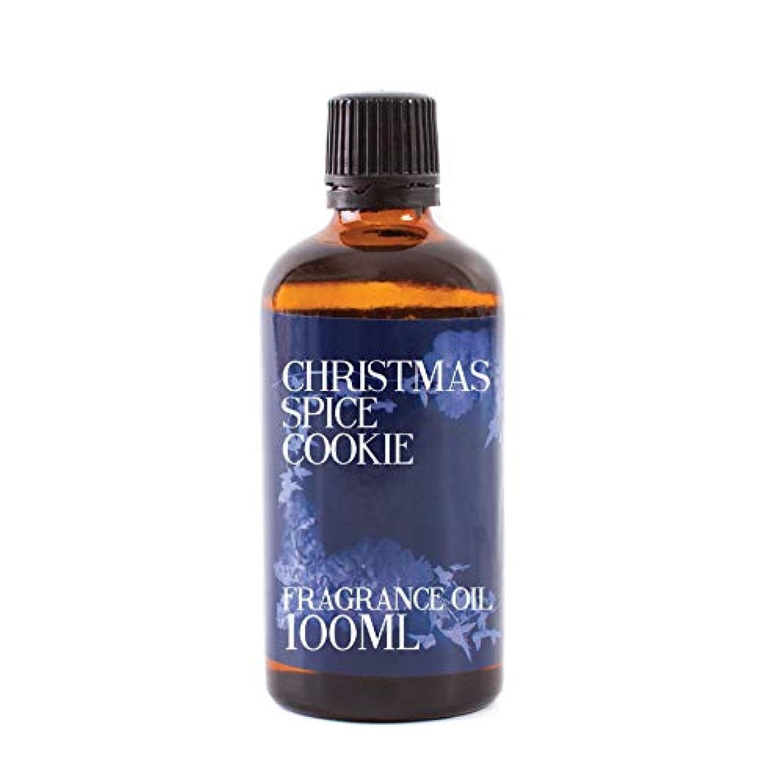 アルミニウム外部噛むMystic Moments   Christmas Spice Cookie Fragrance Oil - 100ml