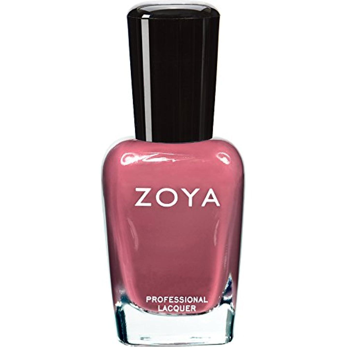 どれでもリーガン疼痛ZOYA ゾーヤ ネイルカラー ZP422 COCO ココ 15ml なめらかな深いモーブ マット 爪にやさしいネイルラッカーマニキュア