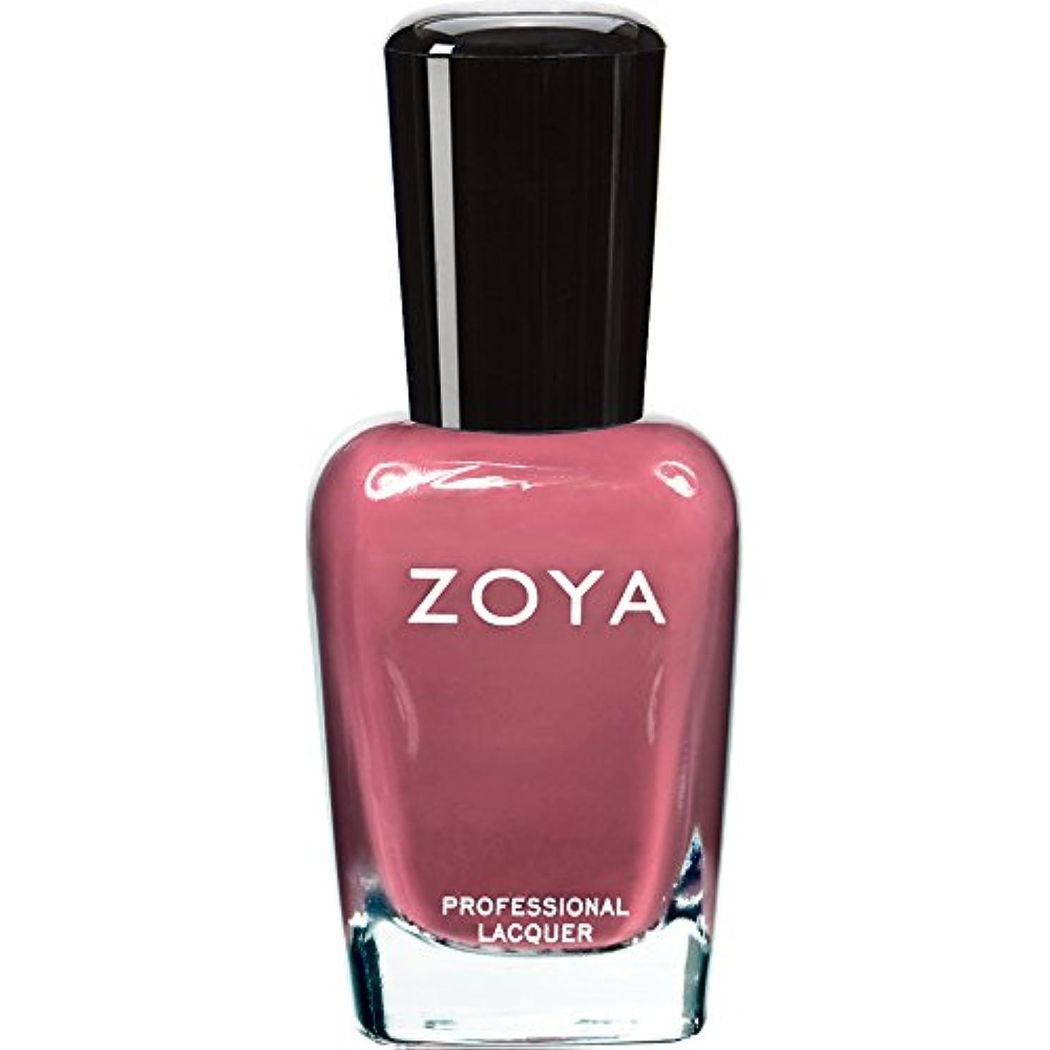 形式段落かすかなZOYA ゾーヤ ネイルカラー ZP422 COCO ココ 15ml なめらかな深いモーブ マット 爪にやさしいネイルラッカーマニキュア