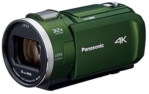 パナソニック 4K ビデオカメラ VZX2M 64GB 光学24倍ズーム フォレストカーキ HC-VZX2M-G