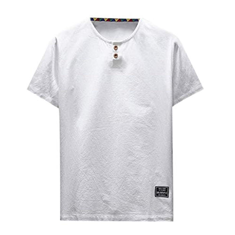 排泄する設計図熟練したOD企画 Tシャツ メンズ 半袖 シャツ メンズ tシャツ メンズ おおきいサイズ 日系 綿麻 丸首 半袖シャツ シャツ 半袖 ブラウス トップス ゆるtシャツ 春夏節対応 おしゃれ ゆったり カットソー ファッション 夏服