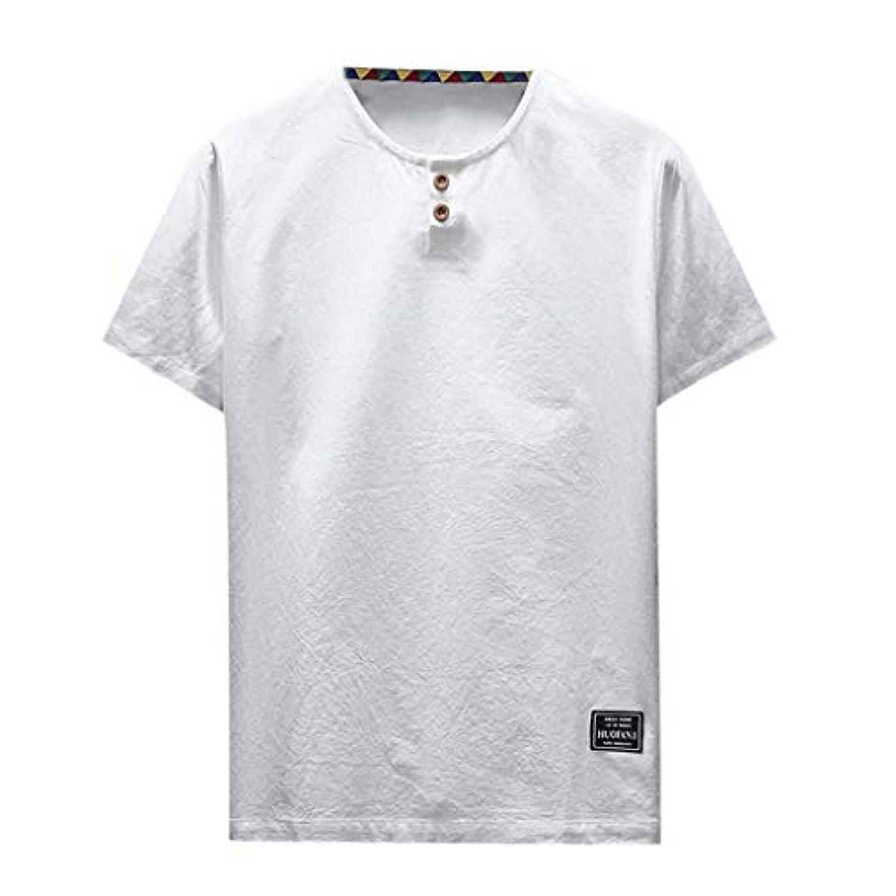傀儡追跡増幅するOD企画 Tシャツ メンズ 半袖 シャツ メンズ tシャツ メンズ おおきいサイズ 日系 綿麻 丸首 半袖シャツ シャツ 半袖 ブラウス トップス ゆるtシャツ 春夏節対応 おしゃれ ゆったり カットソー ファッション 夏服