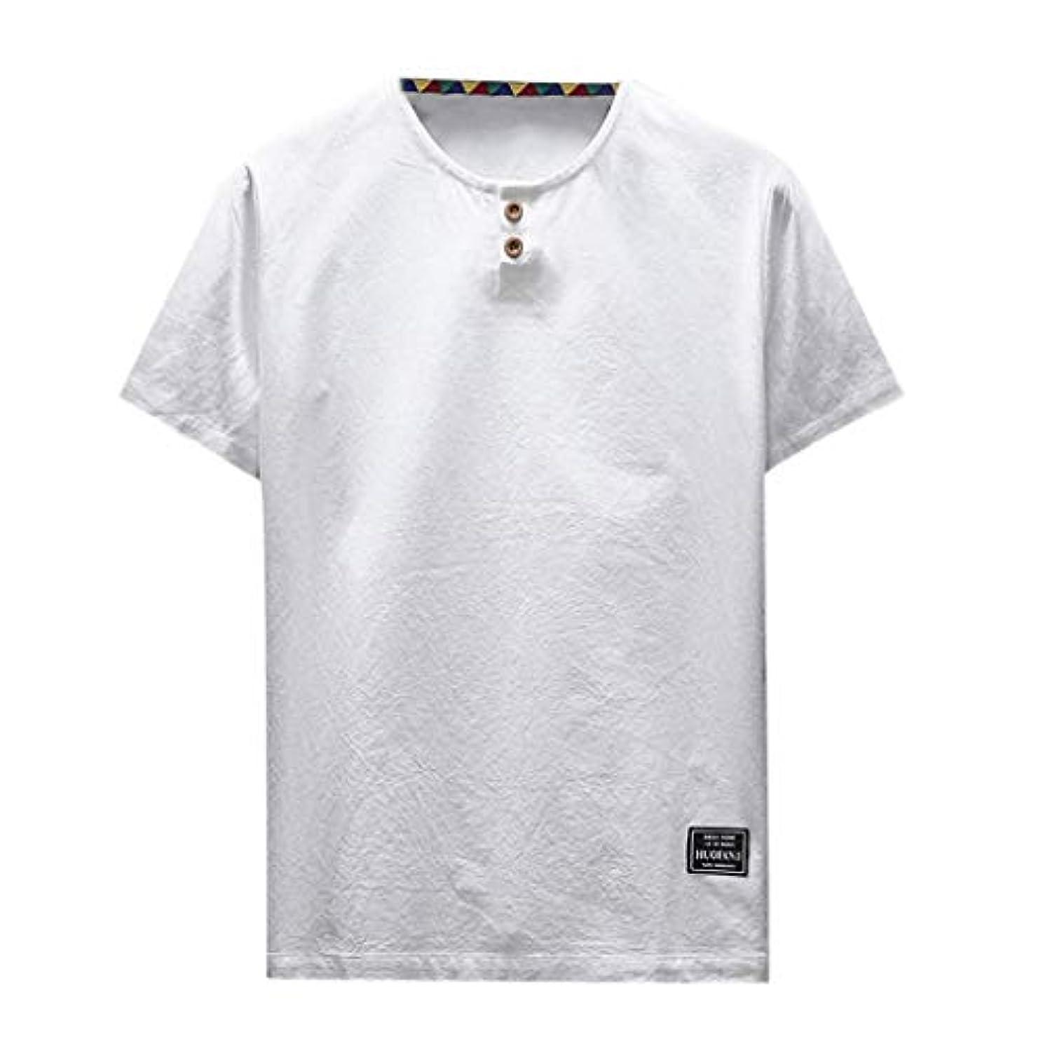 温室約設定熱心なOD企画 Tシャツ メンズ 半袖 シャツ メンズ tシャツ メンズ おおきいサイズ 日系 綿麻 丸首 半袖シャツ シャツ 半袖 ブラウス トップス ゆるtシャツ 春夏節対応 おしゃれ ゆったり カットソー ファッション 夏服