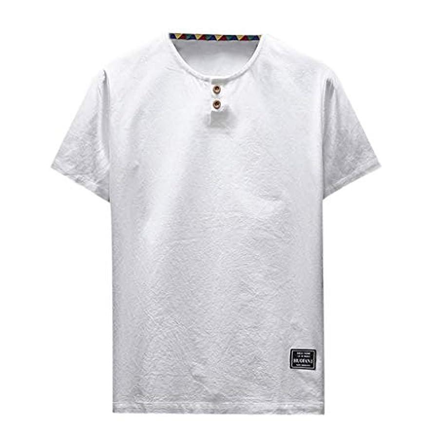 貢献する取り替える閲覧するOD企画 Tシャツ メンズ 半袖 シャツ メンズ tシャツ メンズ おおきいサイズ 日系 綿麻 丸首 半袖シャツ シャツ 半袖 ブラウス トップス ゆるtシャツ 春夏節対応 おしゃれ ゆったり カットソー ファッション 夏服