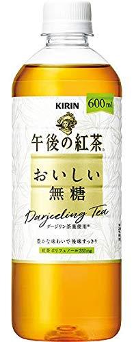 【販路限定品】キリン 午後の紅茶 おいしい無糖 600mlPET×24本