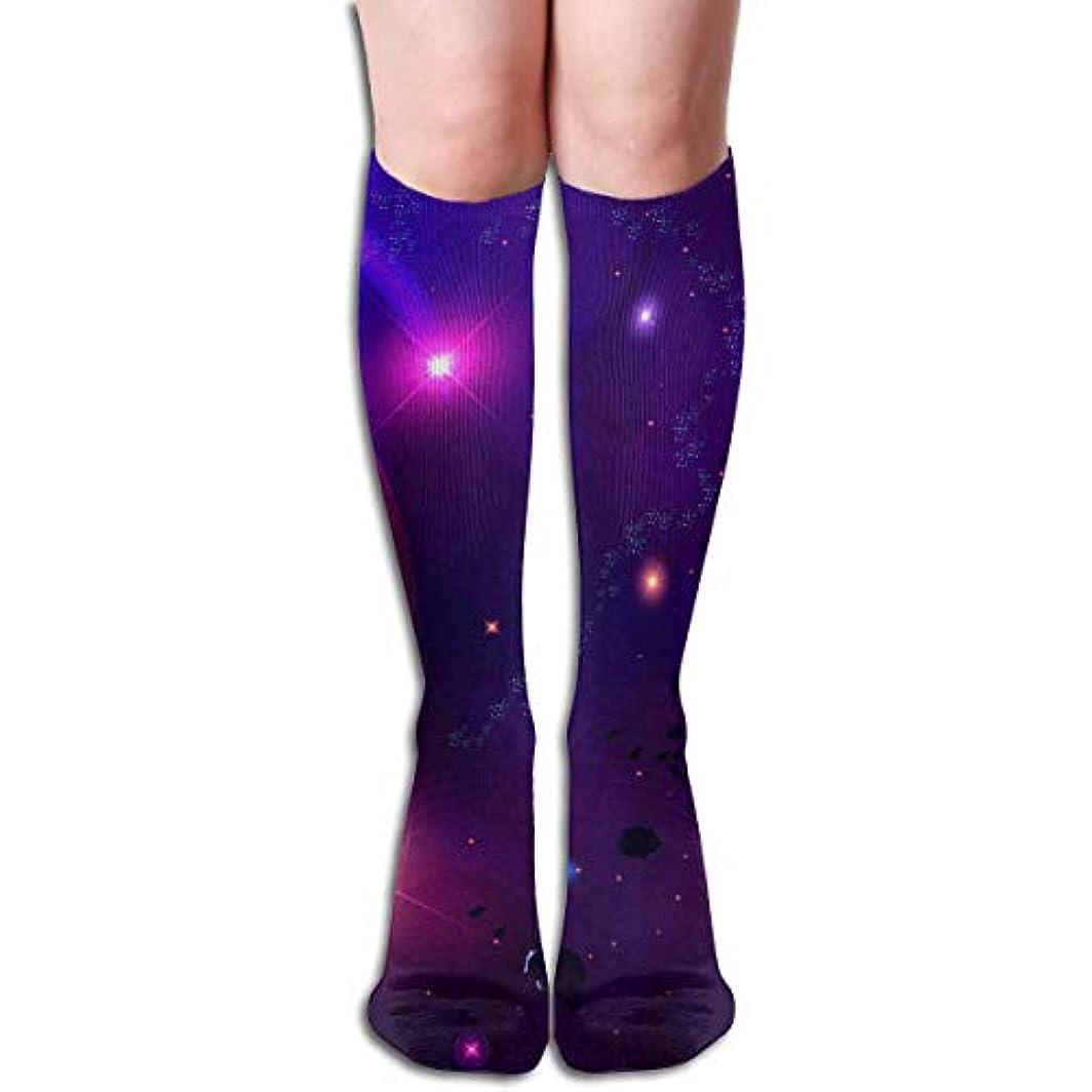 近似関税圧倒的qrriy小惑星隕石チューブストッキングレディース冬暖かい膝ハイソックスブーツ靴下