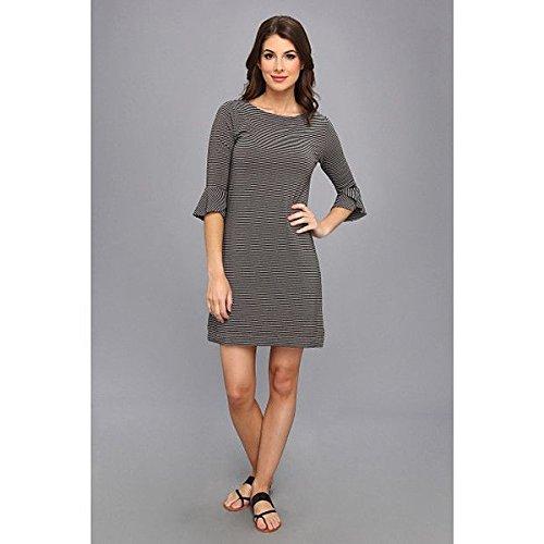 (スリードッツ) Three Dots レディース ドレス パーティドレス Shift Dress w/ Ruffle Sleeves 並行輸入品