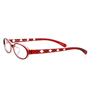 クリスチャンオジャール CA-1002-1 レッド +1.00(老眼鏡)