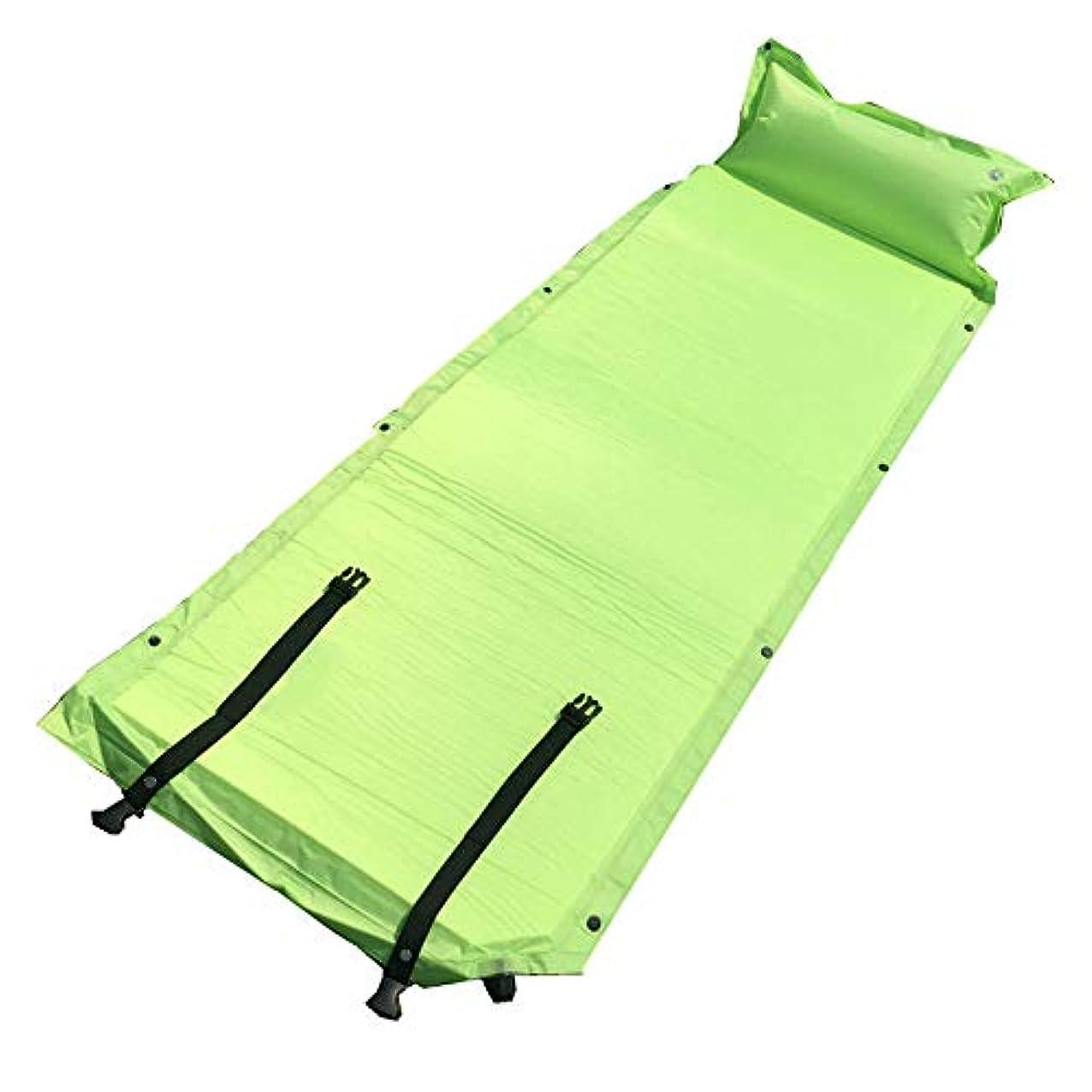 理容師柔らかいケニア屋外の睡眠パッドの自動膨脹可能なクッションの携帯用スポーツ用品の山のキャンプ用品の湿気パッド