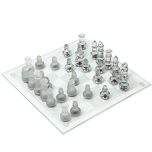 UPALL ガラス製チェスセット ...