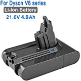 4000mA Replacement Battery for Dyson V6 Series Vacuum Cleaner DC58 DC59 DC61 DC62 DC72 SV06 21.6V Li-ion Battery