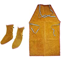 yotijar 1 Pair Leather Welder Welding Protective