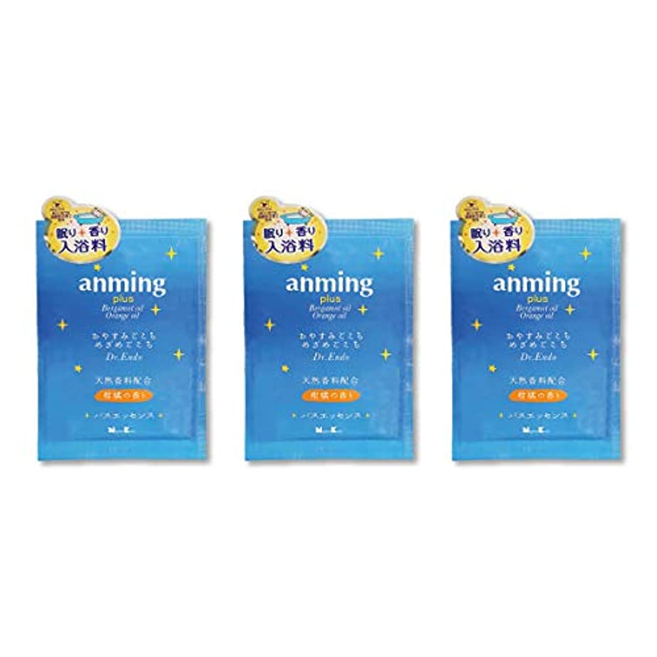 マガジン領収書自発的アンミング プラス 入浴剤 バスエッセンス (ミニタイプ3袋)