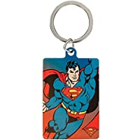 DC Comics Metal Keyring Superman/DCコミックススーパーマンメタルキーリング