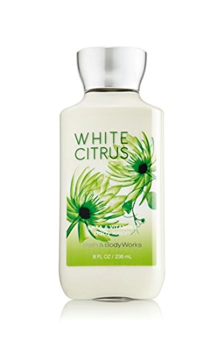 クレデンシャル時間不一致バス&ボディワークス ホワイトシトラス ボディローション white citrus body lotion [並行輸入品]