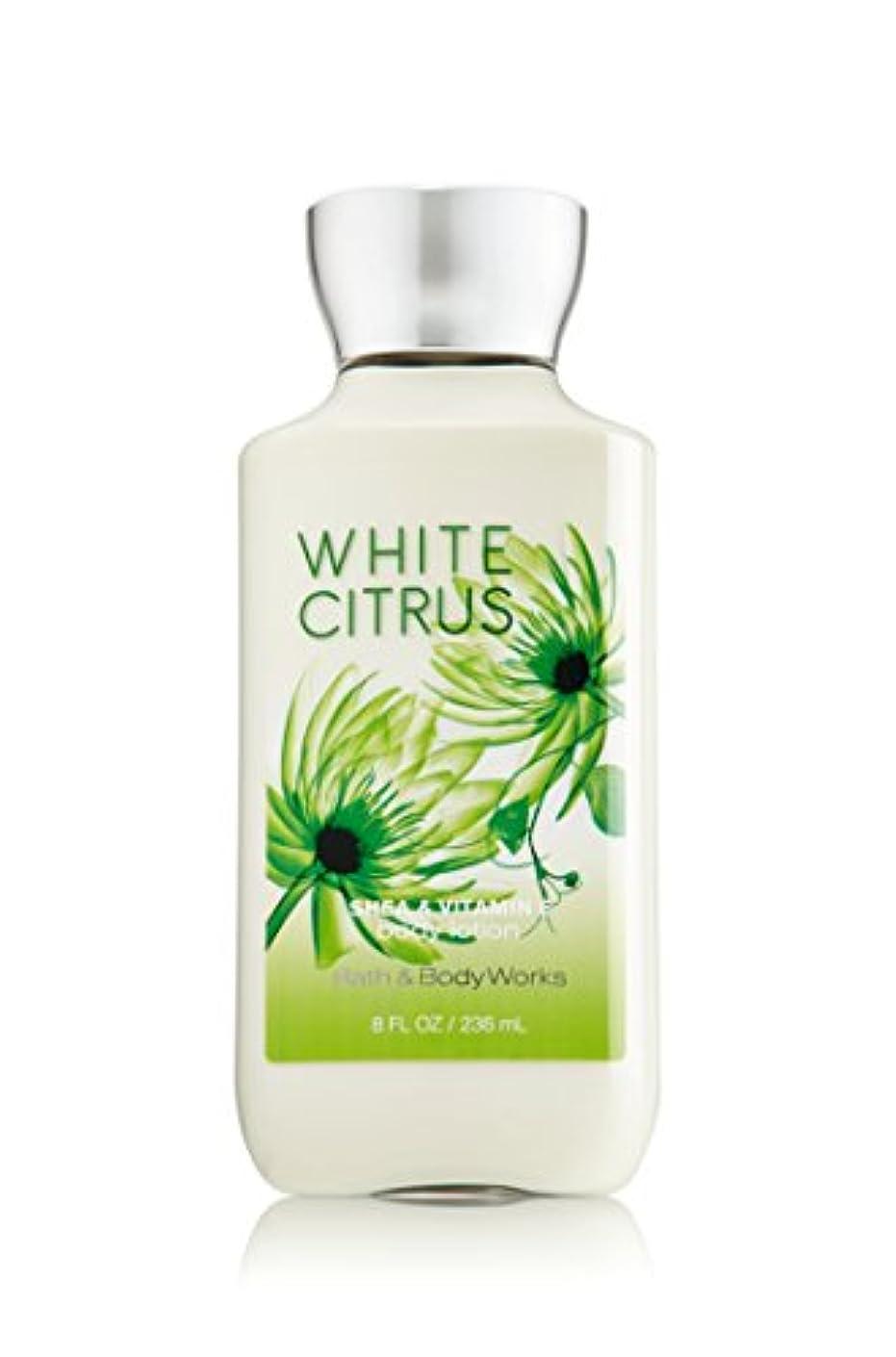 メンダシティ製油所転送バス&ボディワークス ホワイトシトラス ボディローション white citrus body lotion [並行輸入品]