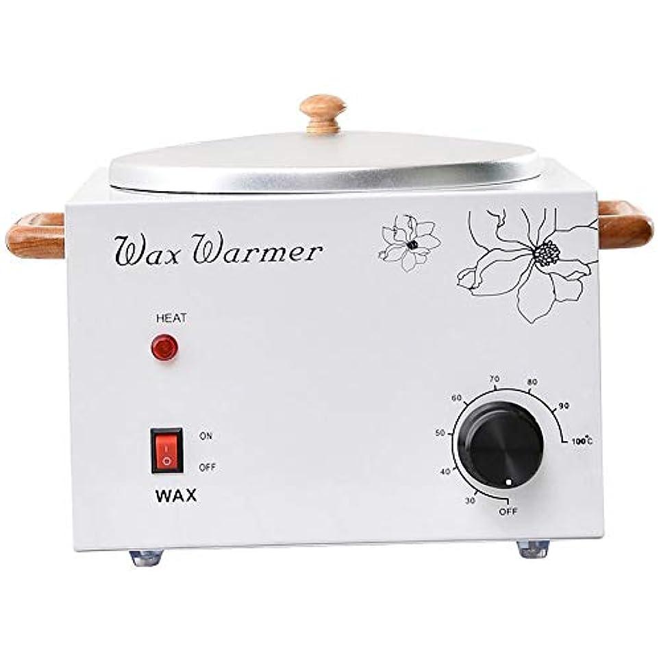 感じ振幅重さプロフェッショナル電気ワックスウォーマーヒーター美容室ワックスポット多機能シングル口の炉内温度制御脱毛脱毛ワックスビーンヒーター4000CC