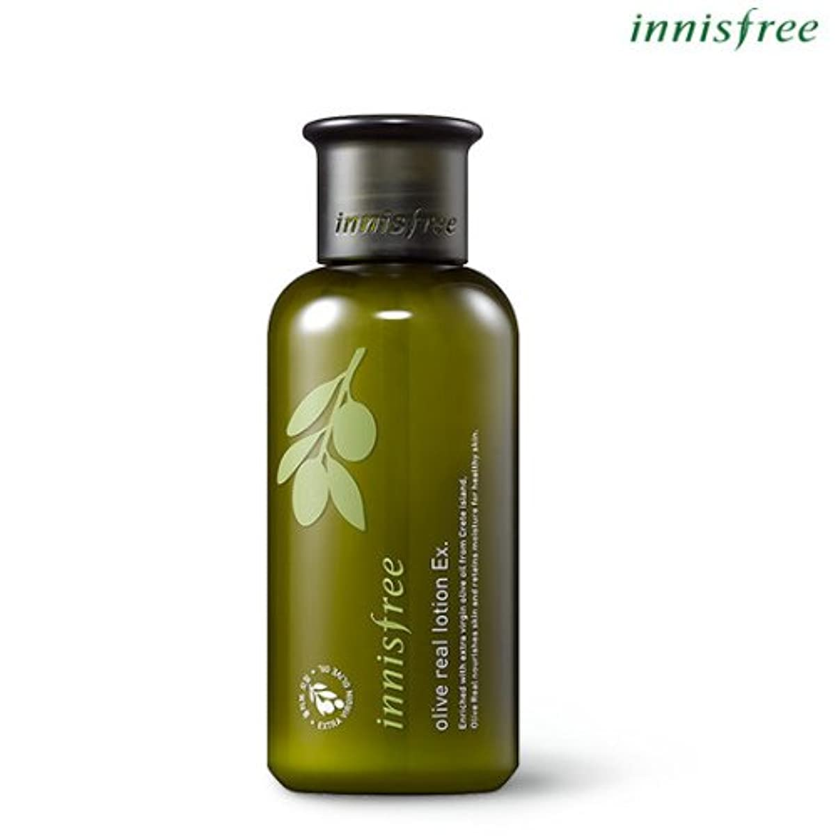 フラスコ貝殻気難しい[INNISFREE]イニスフリーオリーブリアルローションEx.160ml olive real lotion Ex.160ml [並行輸入品]
