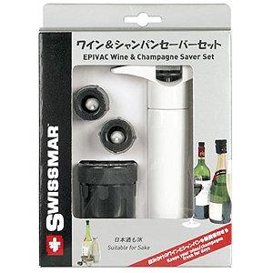 nobrand/ノーブランド swissmar ワイン&シャンパンセーバー EE435PT 【業務用】