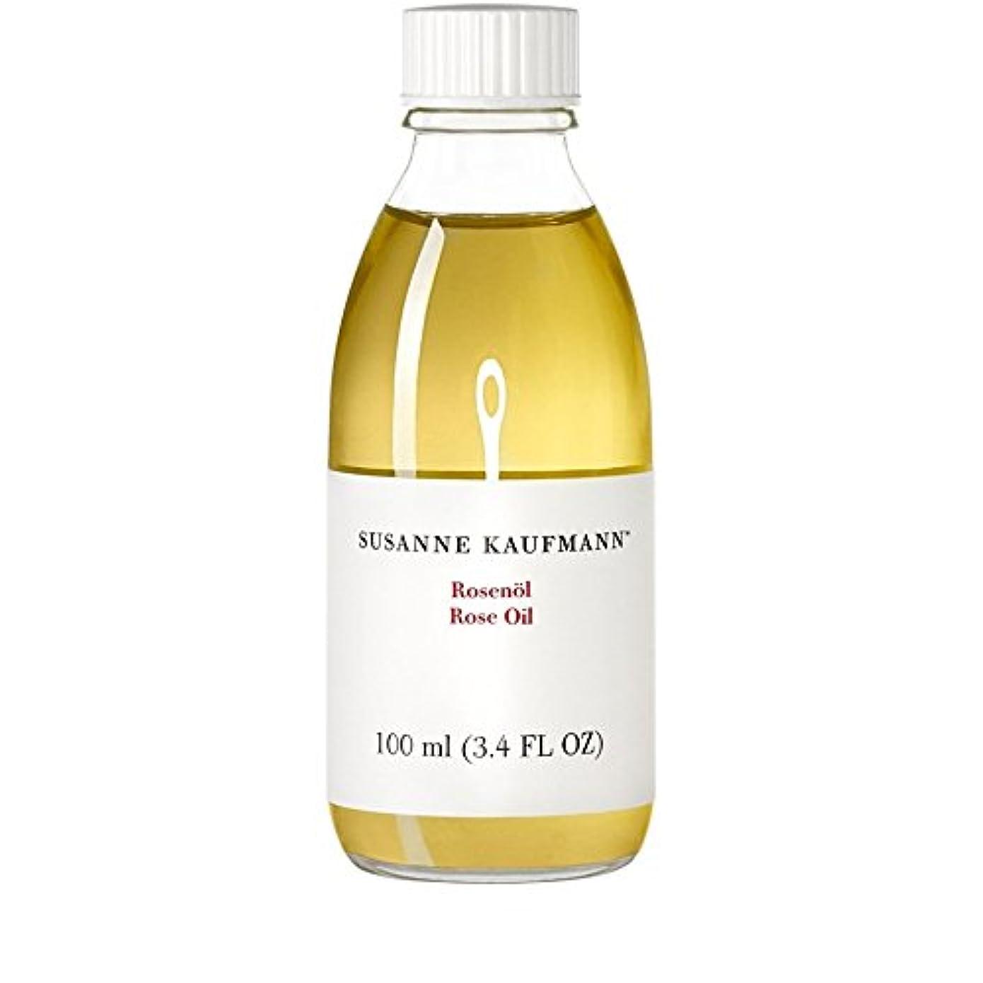 姿勢麻酔薬無秩序Susanne Kaufmann Rose Oil 100ml (Pack of 6) - スサン?カウフマンオイル100ミリリットルをバラ x6 [並行輸入品]