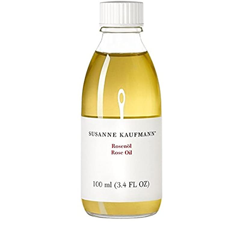 モニカウォーターフロント今晩Susanne Kaufmann Rose Oil 100ml (Pack of 6) - スサン?カウフマンオイル100ミリリットルをバラ x6 [並行輸入品]