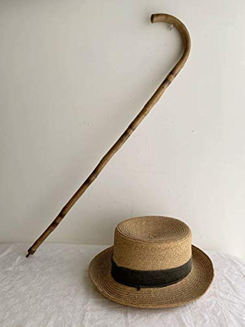 シャツ封筒表面フランス 1920-30s 一本木 ステッキ 杖 オブジェ 民藝 ブロカント ヴィンテージ アンティーク