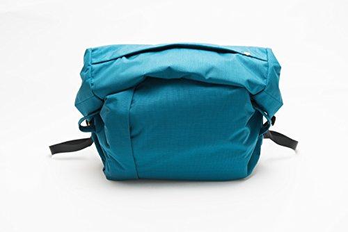 ネパール製 ハンドメイド カメラバッグ 「The Field Bag#001」 Sサイズ ブルー (S, ブルー)