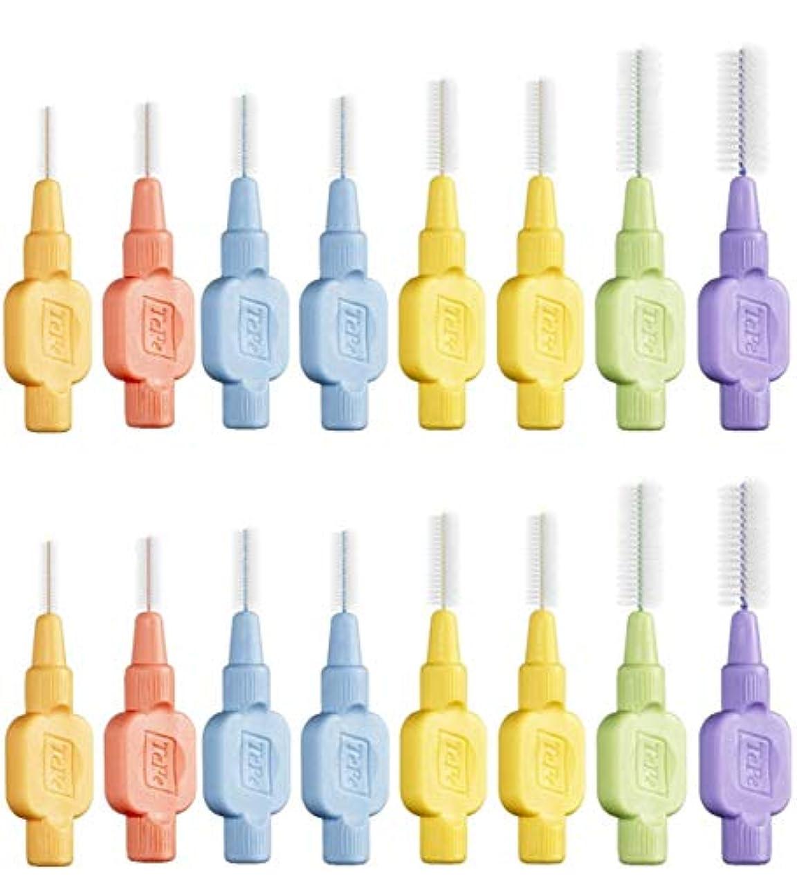 ご予約受け入れた耐えるテペ 歯間ブラシ 極やわらかめ(エクストラソフト) 8本入×2袋 (mix)