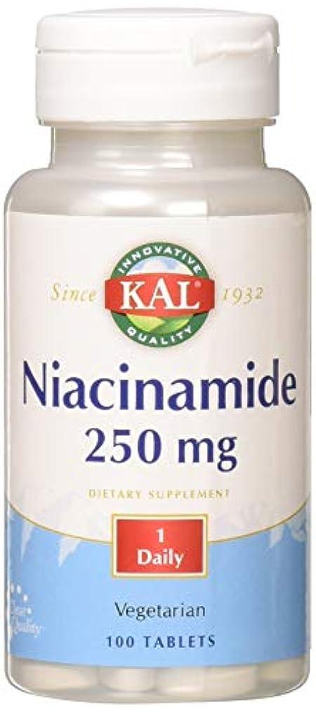 ここに人気の意識的ナイアシンアミド(ビタミンB3) 250mg 100粒[海外直送品]