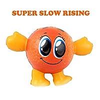 Tichan 面白い男のスーパー スローライジング キッズ ファン ストレスリリーフ 減圧玩具 ストレス解消好物 低反発スクイーズおもちゃ 多種可選 (D)
