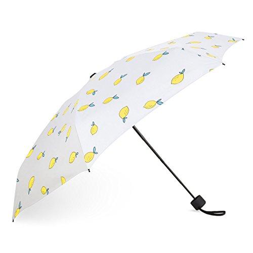 TWONE 折り畳み傘 晴雨兼用 高強度グラスファイバー 紫外線遮蔽率99.9% 高密度NC布 UVカット 遮熱 耐風 撥水 収納ポーチ付き レディーズ 軽量 携帯用