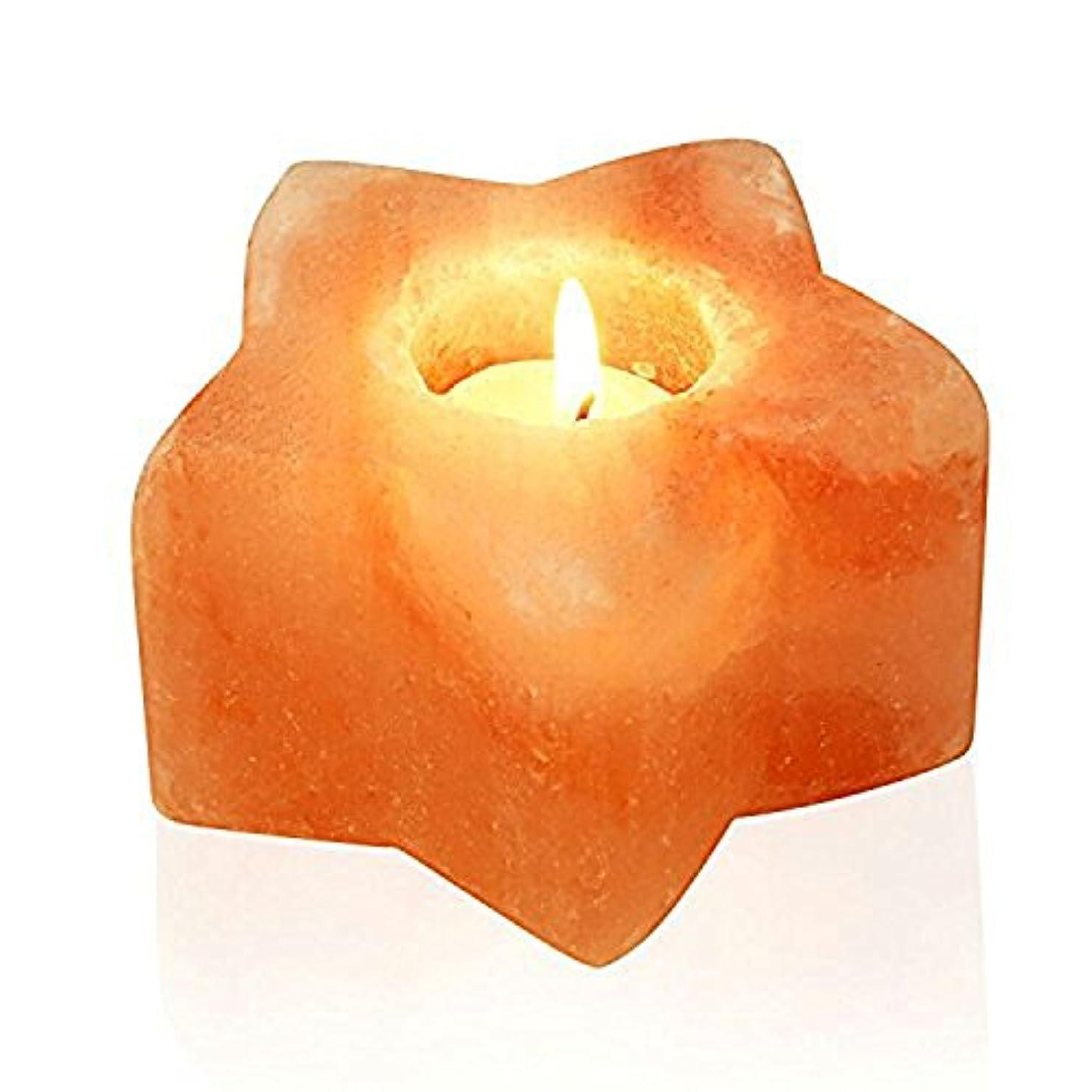 しょっぱい分類する蒸し器ヒマラヤ岩塩 キャンドルホルダー ソルトキャンドルスタンド 蝋燭台4個セット ろうそく8枚付き 結婚式 ウェディング 誕生日 キャンドルライト おしゃれ インテリア 仏壇 バレンタイン