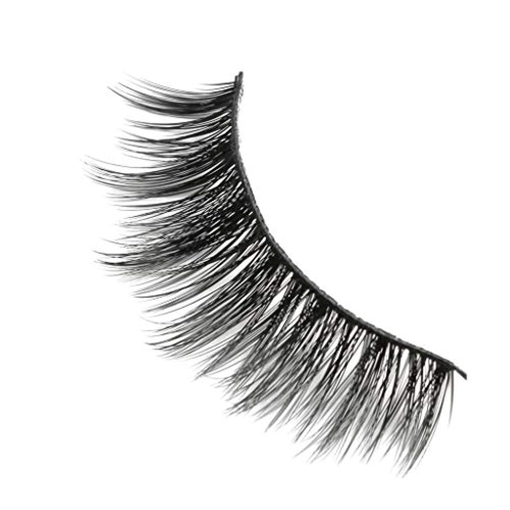 今後権限スプリット柔らかい長い巻き毛と歪んだ多くの層まつげと3Dミンクの毛皮の10ペア