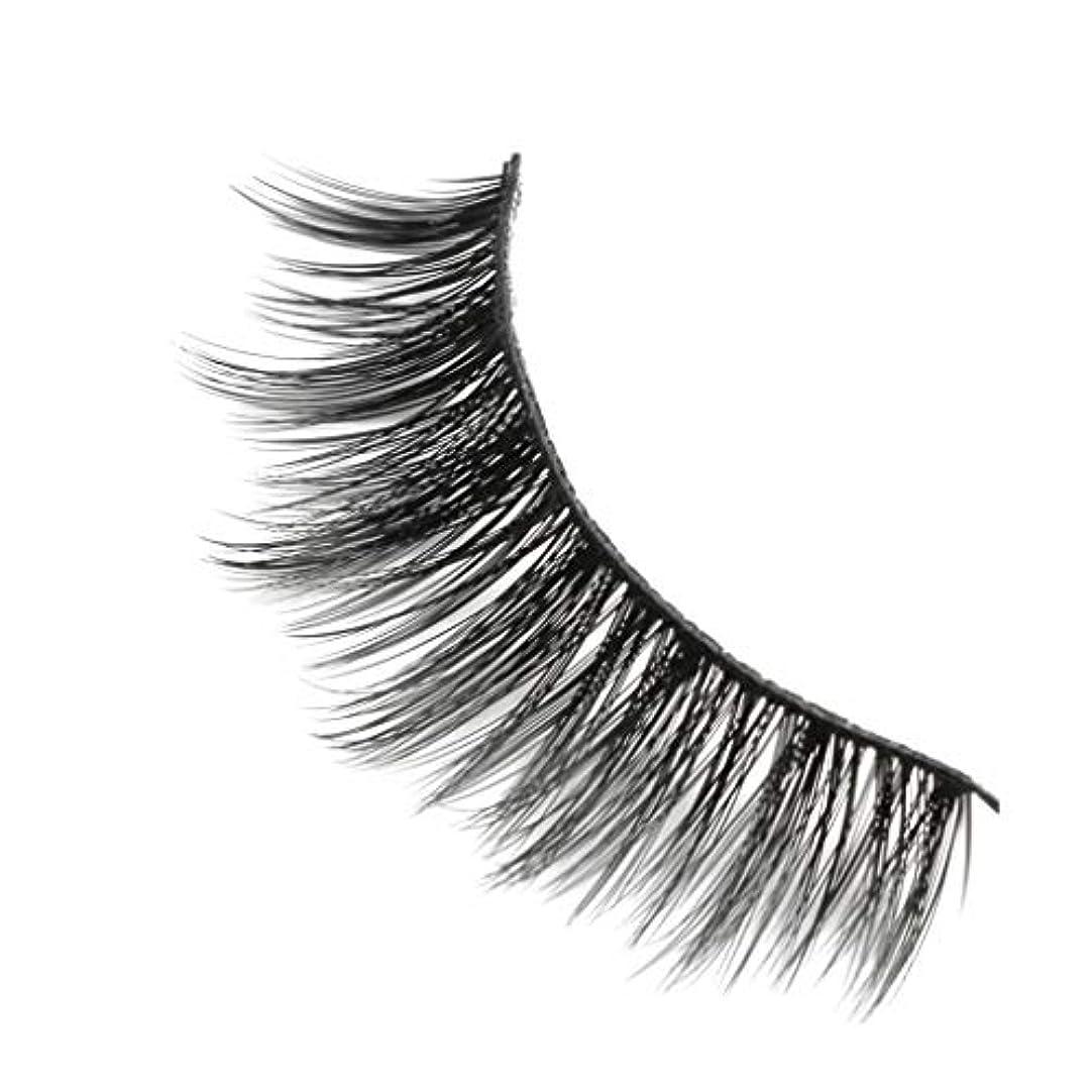 所有権プラグラジカル柔らかい長い巻き毛と歪んだ多くの層まつげと3Dミンクの毛皮の10ペア
