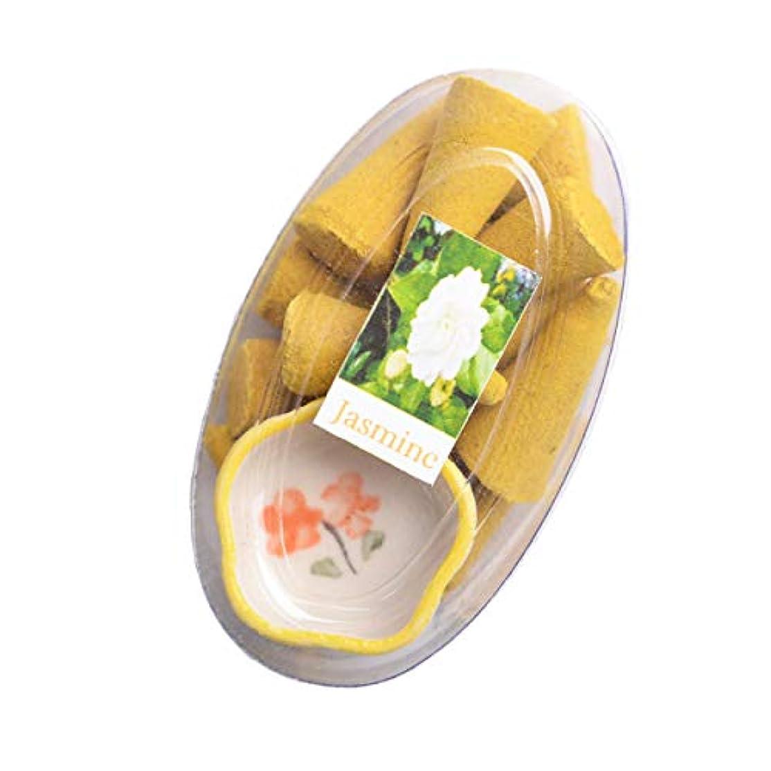 スズメバチサーキュレーションペルーMARAI(マーライ) お香 コーン お香たて付き ジャスミン