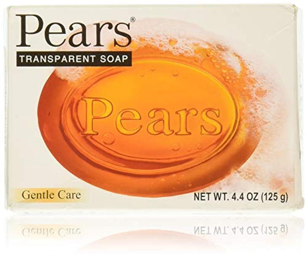 船上バッグ発明するPears ソープジェントルケアトランスペアレント4.4オズ 1パック