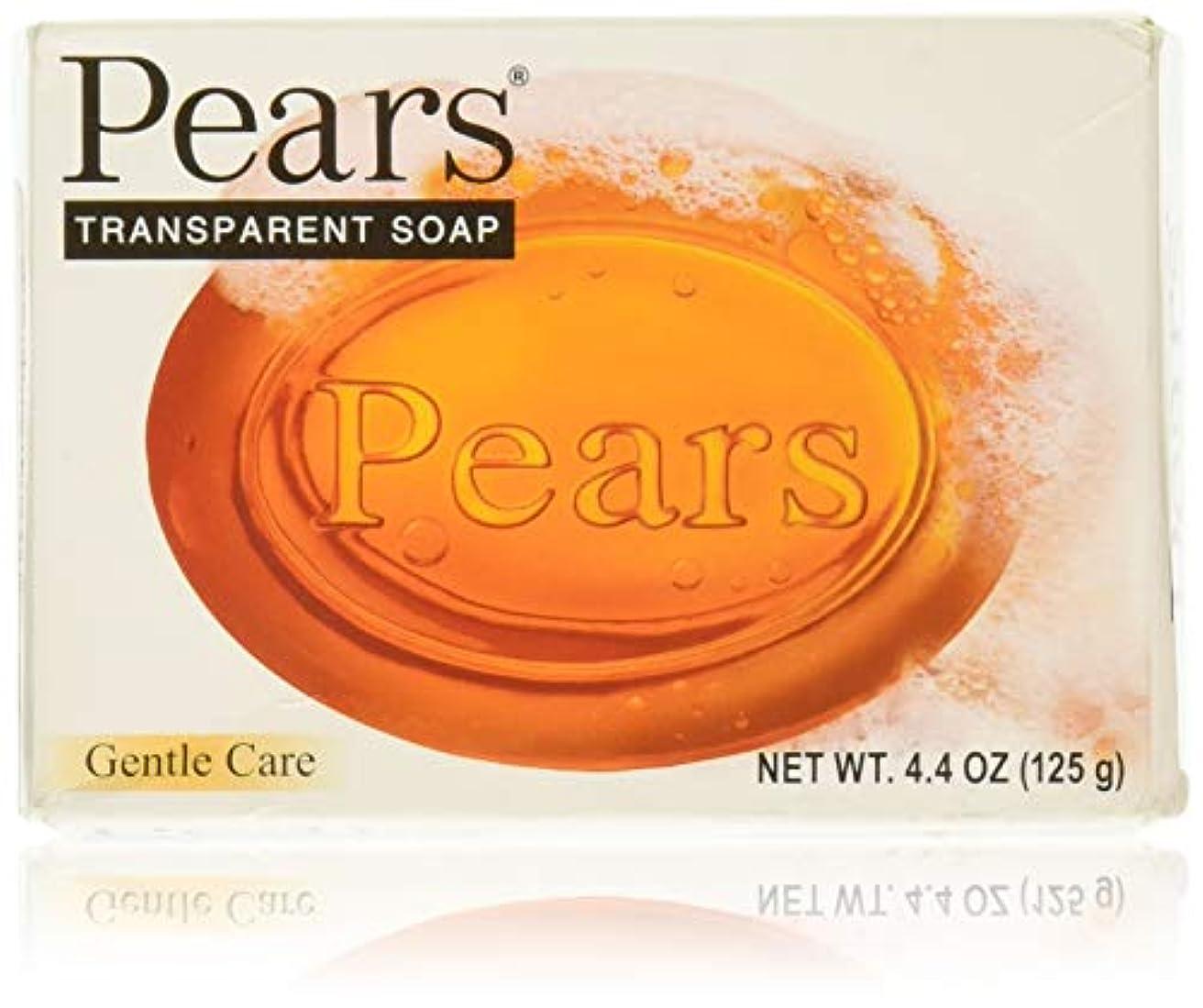 盟主巧みな法廷Pears ソープジェントルケアトランスペアレント4.4オズ 1パック